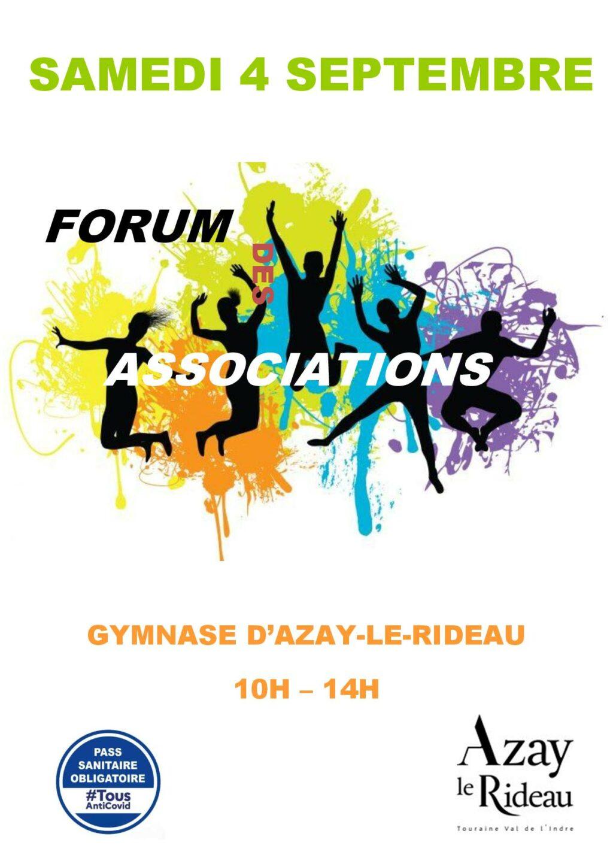 forum des associations Azay-le-Rideau 2021